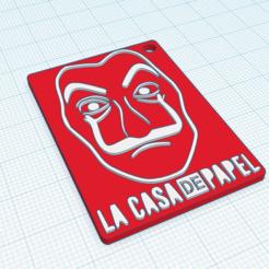 Descargar diseños 3D KeyRing La Casa De Papel, Ferreiro888