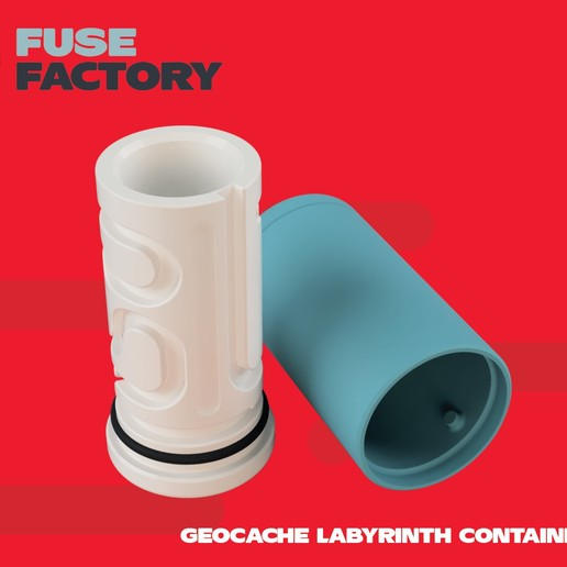 Download free 3D model Labyrinth container - Geocache, fusefactory