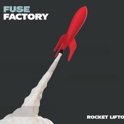 Descargar modelos 3D gratis Despegue de cohetes, fusefactory