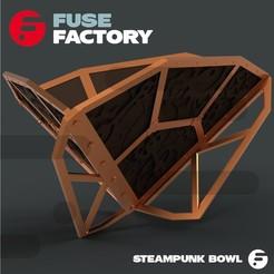 Descargar diseños 3D gratis Tazón Steampunk, fusefactory