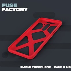 Download free STL file Xiaomi Pocophone - case & mold, fusefactory