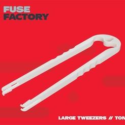 Download free STL file Large Tweezers, Tongs - remix, fusefactory