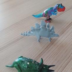 Descargar modelos 3D gratis Dinosaurs - Pack for handcraft., felipesilva