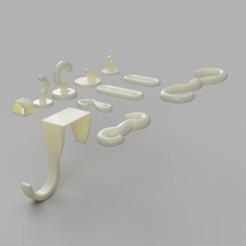 colgador2.jpg Download free STL file hangers and hooks pack • 3D print template, felipesilva