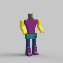 Robotin_publish.png Download free STL file Robot toy • 3D printable object, felipesilva