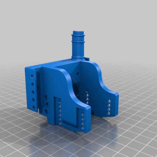 3dSubzwari-BTT2in1.png Download free STL file Eryone ThinkerS ThinkerSE Bigtreetech 2in1 hotend herome mount • 3D print model, 3dSubzwari