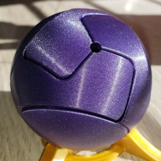 Download free 3D printer model Sphere in 3 parts - kawai tsugite, Shahan