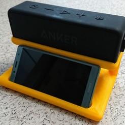 Descargar archivo 3D gratis Anker SoundCore & Phone Stand, hd42