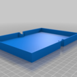 Download free SCAD file Gloomhaven Monster Storage Lids • 3D printer model, hd42