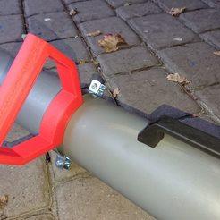 Descargar archivo 3D gratis Laubsaugergriff (asa para aspiradora de jardín), hd42