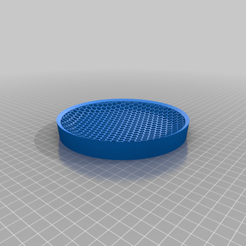 Download free SCAD file Round Soap Dish Insert • 3D print model, hd42
