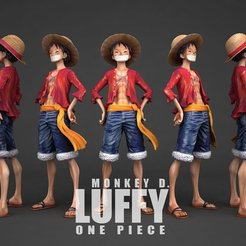 Download free 3D print files lufi one piece, hexagondesing