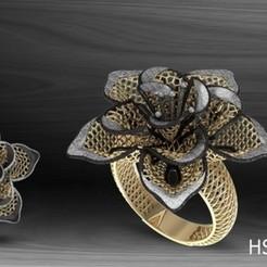 HSFZ-A022.jpg Download STL file Nokta Model Fusion Ring  • 3D printing model, Mansuri