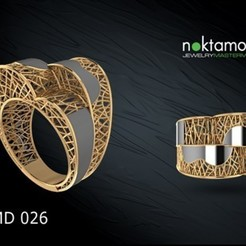 Download 3D printing templates Ring-01, armankhan656565