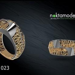 RFZ-MD023.jpg Télécharger fichier STL N-Ring05 • Modèle pour impression 3D, Mansuri