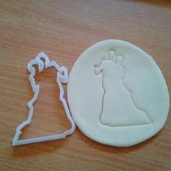 Download STL couple ,bride,wedding cookie cutter , laraI22