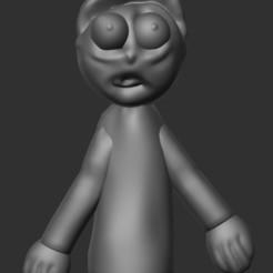 Descargar archivo 3D Simple Morty, dafineh777