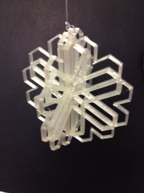snowflake.jpg Download free STL file Snowflake Ornament • 3D printer design, Ludwig-Concerto