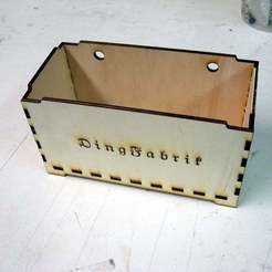 Download free STL files small stackable and hanging box, Ludwig-Concerto