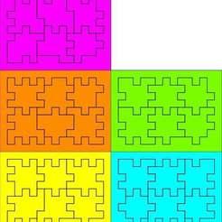 Descargar STL gratis 5 cajas de rompecabezas diferentes también conocidas como Happy Cubes, Ludwig-Concerto