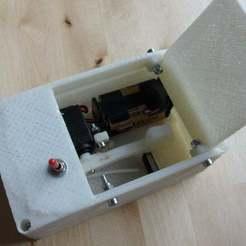 Télécharger plan imprimante 3D gatuit Version imprimable de'The Most Useless Machine Ever' (La machine la plus inutile), Ludwig-Concerto
