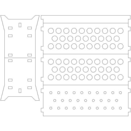 holder_for_tubes_13x100mm.jpg Download free STL file Lasercut test tubes rack • 3D printable model, Ludwig-Concerto