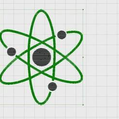 Download free 3D model Embroidery Nuclear Design, Ludwig-Concerto