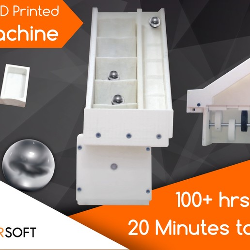 Download free 3D printer files The 3D Printed Marble Machine by Maher Soft, Ludwig-Concerto