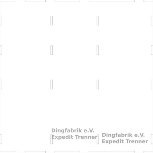 Download free 3D printer designs Shelf separator for IKEA Expedit, Ludwig-Concerto