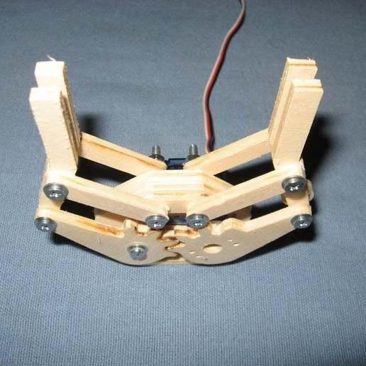 Télécharger modèle 3D gratuit Mini pince servo, Ludwig-Concerto