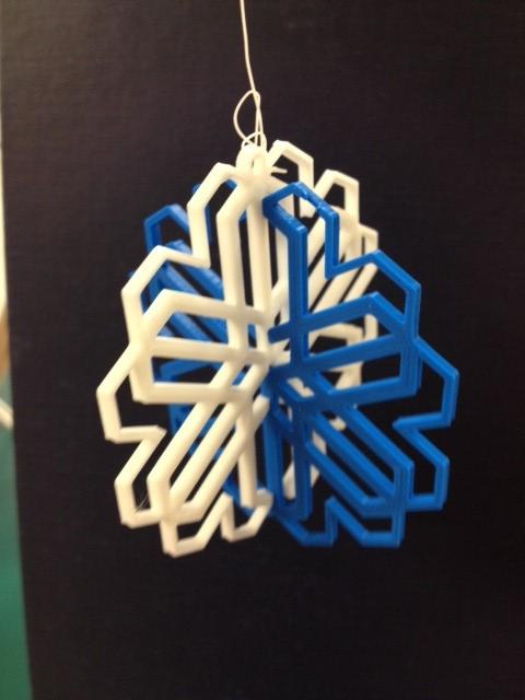 snowflake2.jpg Download free STL file Snowflake Ornament • 3D printer design, Ludwig-Concerto
