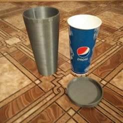 IMG_20151013_223205.jpg Download free STL file Cup saver • 3D printable template, Solaris92