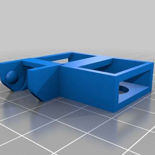 Cable_Carrier_Wilson_20X20_Holder.jpg Télécharger fichier SCAD gratuit Porte-chaîne pour RepRap Wilson • Modèle à imprimer en 3D, Solaris92