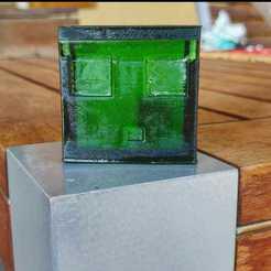 WhatsApp Image 2020-07-01 at 14.43.24 (2).jpeg Télécharger fichier STL Minecraft Slime • Modèle à imprimer en 3D, Alan27