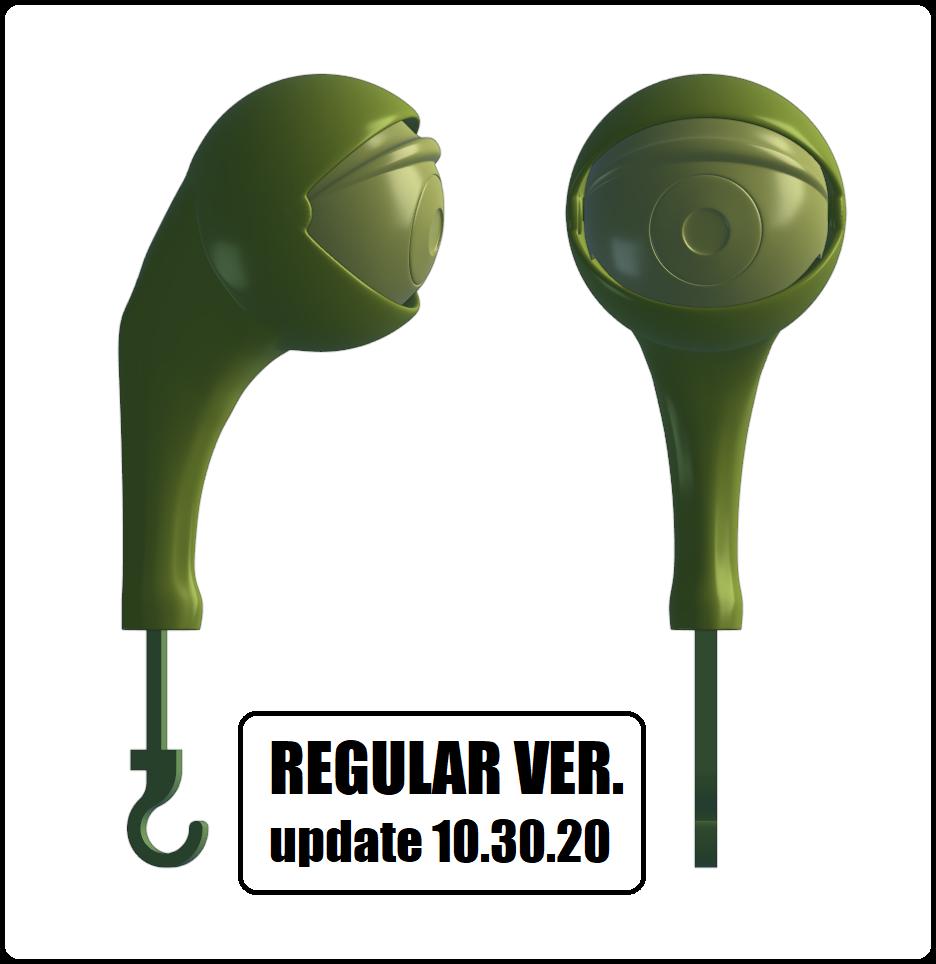 regular VER.png Télécharger fichier STL DÉTENTEUR DE LA CLÉ - ŒIL (COLLECTION COMPLÈTE) • Objet pour imprimante 3D, kendofuji
