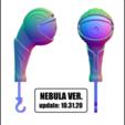 NEBULA VER.png Télécharger fichier STL DÉTENTEUR DE LA CLÉ - ŒIL (COLLECTION COMPLÈTE) • Objet pour imprimante 3D, kendofuji