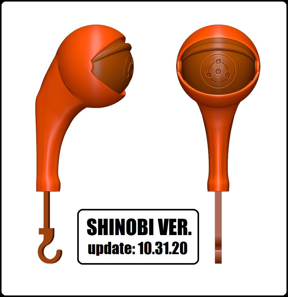 SHINOBI VER.png Télécharger fichier STL DÉTENTEUR DE LA CLÉ - ŒIL (COLLECTION COMPLÈTE) • Objet pour imprimante 3D, kendofuji