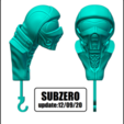 SUBZERO VER.png Télécharger fichier STL DÉTENTEUR DE LA CLÉ - ŒIL (COLLECTION COMPLÈTE) • Objet pour imprimante 3D, kendofuji