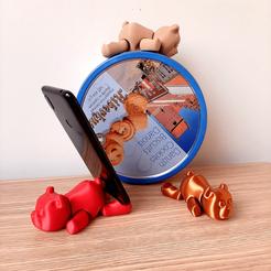 FLEXI BEAR 2.png Download free STL file flexi bear • 3D printable object, kendofuji