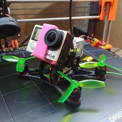 "20200215_230704_HDR.jpg Download free STL file 3"" quadcopter drone frame with gopro hero 4 mount • 3D print model, CURLY686"