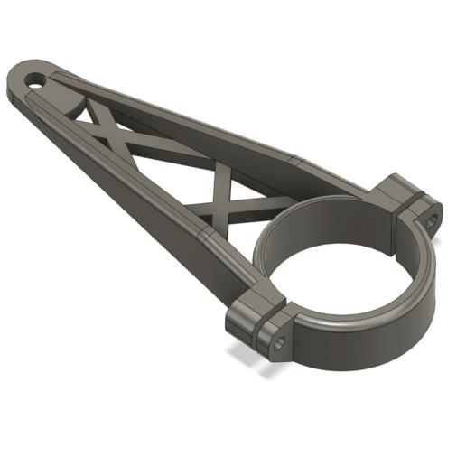 Télécharger plan imprimante 3D gatuit grue zhiyun 2 support de moniteur - poste de 48mm, CURLY686