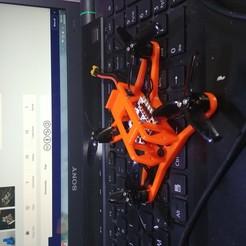 Télécharger fichier 3D gratuit Châssis de quadruple drone de 115 mm 2,5 pouces, CURLY686