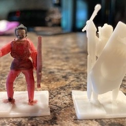 Download 3D printer designs DnD Soldiers, brintan