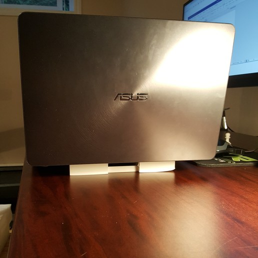 Download free 3D printing files Laptop stand for overheating laptops, CH3D
