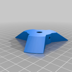 Download free 3D printing templates spool holder to suit 45-80mm spool and 8mm rod and 608 bearings, 000286