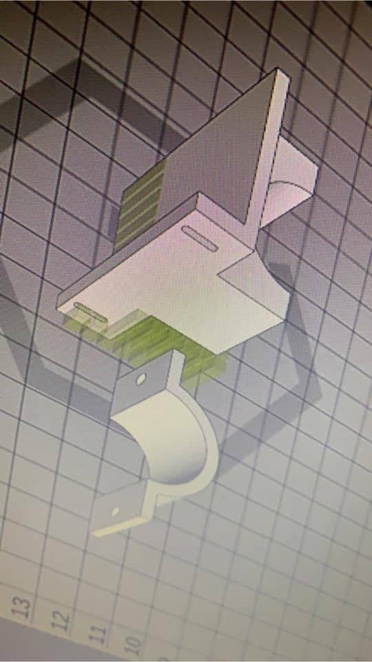 56424391_351693182136490_8043022244030447616_n.jpg Download free STL file AMT8 Remote extruder mount • Model to 3D print, 000286