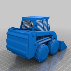 Download free STL file Bobcat 777 • Model to 3D print, 000286