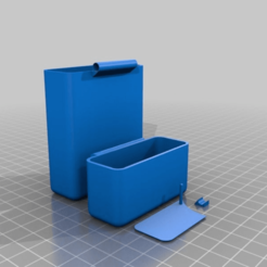 Download free 3D printing templates Ciggy box v2, 000286