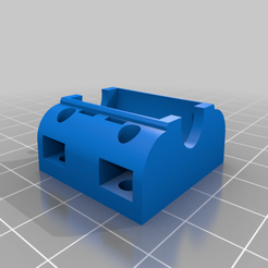 Télécharger fichier STL gratuit Mon support de palier paramétrique personnalisé à l'aide de serre-câbles • Objet pour impression 3D, 000286