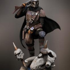 Download 3D printing designs The Mandalorian classic armor Din Djarin 3d printing star wars 3D print model, carlos26